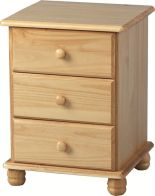 See more information about the Sol 3 Drawer Bedside Chest