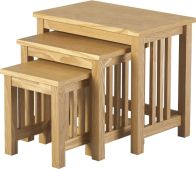 See more information about the Ashmore Nest of Tables - ASH VENEER