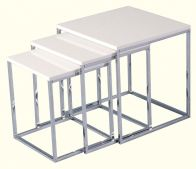 See more information about the Charisma Nest of Tables - WHITE GLOSS