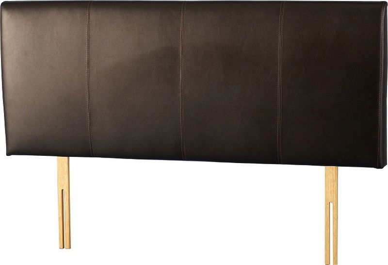 Palermo King Size Headboard - Expresso Brown