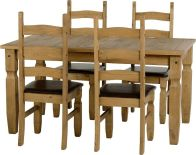 See more information about the Corona 5' Dining Set - DWP/EXPRESSO BROWN