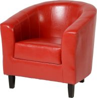 See more information about the Tempo Tub Chair - RUSTIC RED