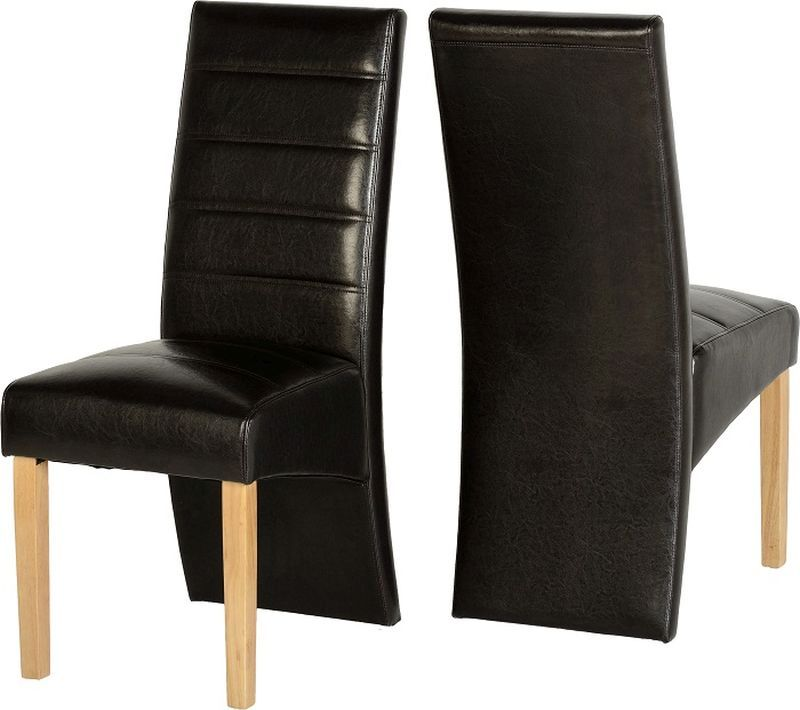 G5 Leather Style Dining Chair - EXPRESSO BROWN