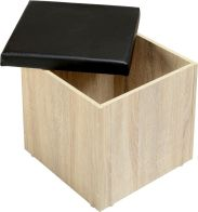 See more information about the Cambourne Storage Stool - SONOMA OAK