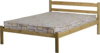 See more information about the Panama Double Bed - Natural Wax