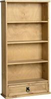 See more information about the Corona DVD Rack (1 Drawer) - DISTRESSED WAXED PINE