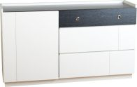 See more information about the Concept Contemporary Sideboard - BLACK/WHITE