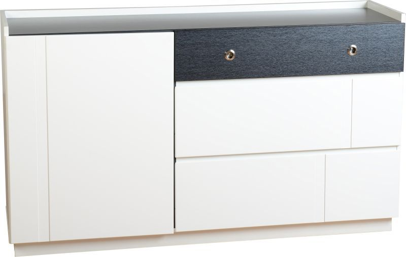 Concept Contemporary Sideboard - BLACK/WHITE