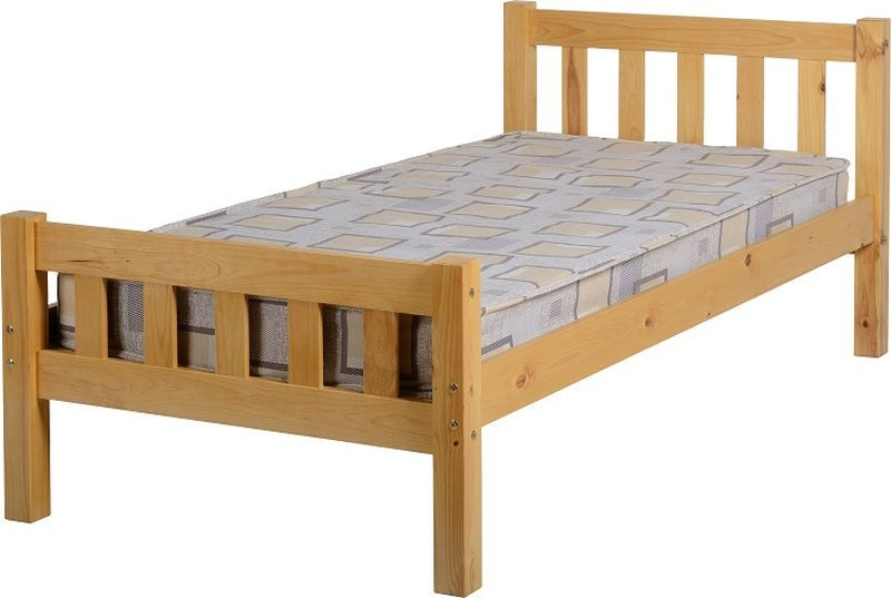 Carlow Single Bed - Antique Pine