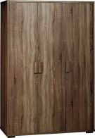 See more information about the Cambourne Wardrobe (3 Door) - DARK SONOMA OAK