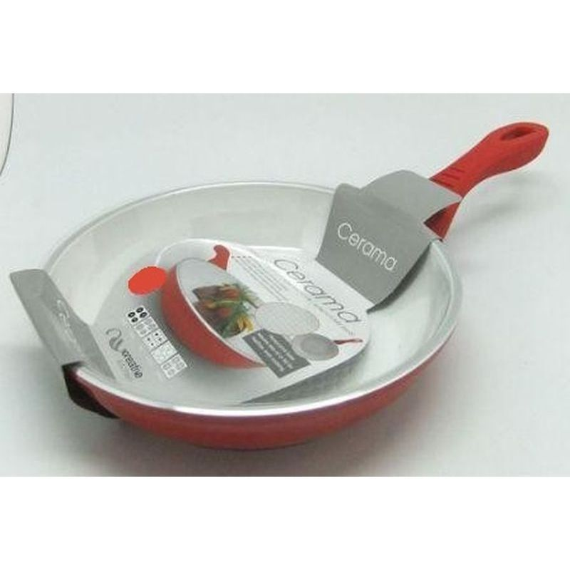 Frying Pan Large 28cm (Red)