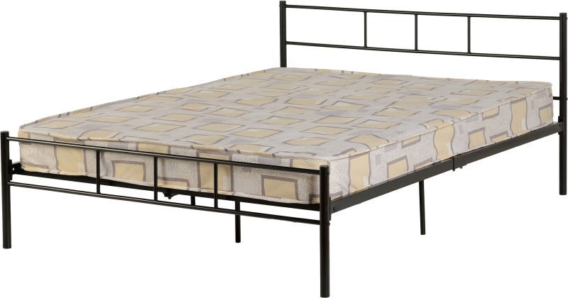 Devon Double Bed - Black