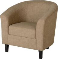 See more information about the Tempo Tub Chair - SAND FABRIC