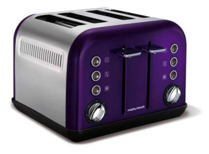 New Accents 4 Slice Toaster 242016