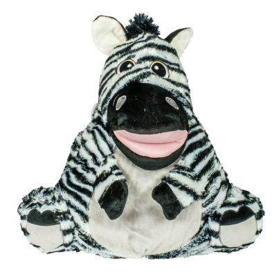 Wilko Animal Pillow : Animal Puppets Zebra