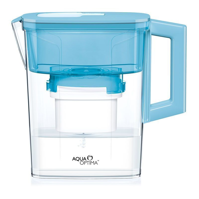 Compact 30 Day Water Filter Jug (Blue)