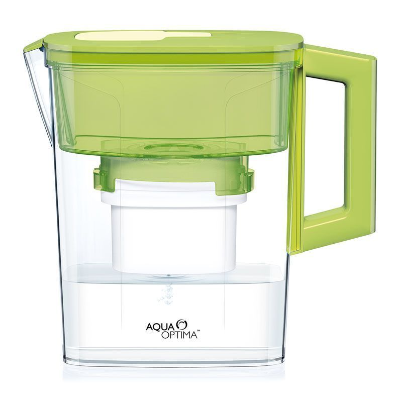 Compact 30 Day Water Filter Jug (Green)