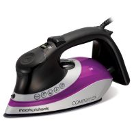 See more information about the Morphy Richards ComfiGrip Steam Iron 2.6KW Purple Black