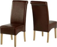 See more information about the G10 Dining Chair - MID BROWN