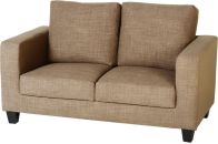 See more information about the Tempo Two Seater Sofa in a Box - SAND FABRIC
