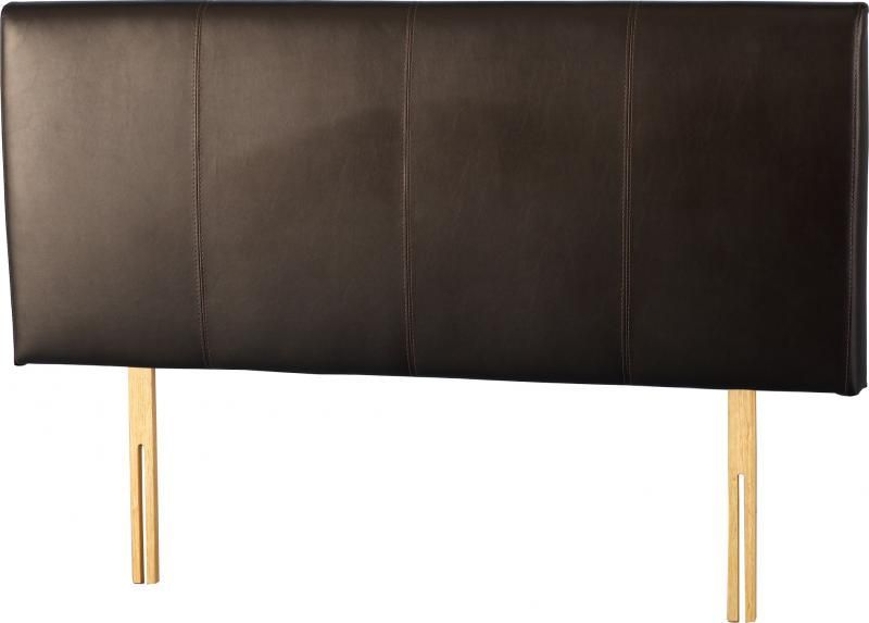 Palermo Double Bed Headboard - Expresso Brown