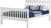See more information about the Monaco King Size Bed - White
