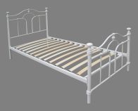 See more information about the Keswick Single Bed - Cream