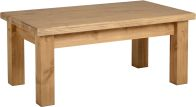 See more information about the Tortilla Coffee Table in Distressed Waxed Pine