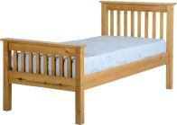 See more information about the Monaco Single Bed - Antique Pine