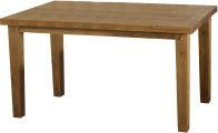 "See more information about the Tortilla 4'9"" Dining Table in Distressed Waxed Pine"