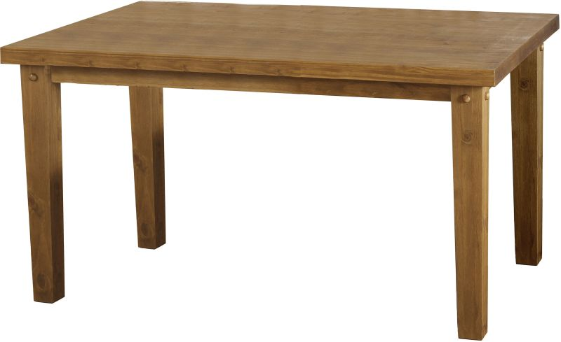 "Tortilla 4'9"" Dining Table in Distressed Waxed Pine"