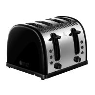See more information about the Russell Hobbs Legacy Toaster - Black