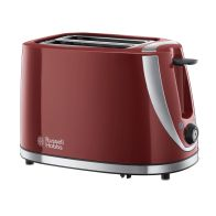 See more information about the Russell Hobbs Mode 2 Slice Toaster - Red