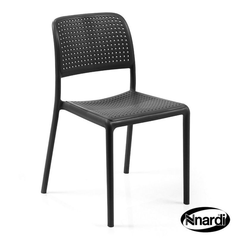 Nnardi Bistro Outdoor Garden Chair Anthracite