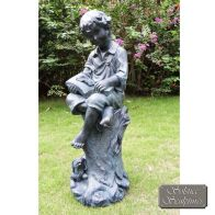 See more information about the Arthur 89cm Garden Ornament Statue (Lead in colour)