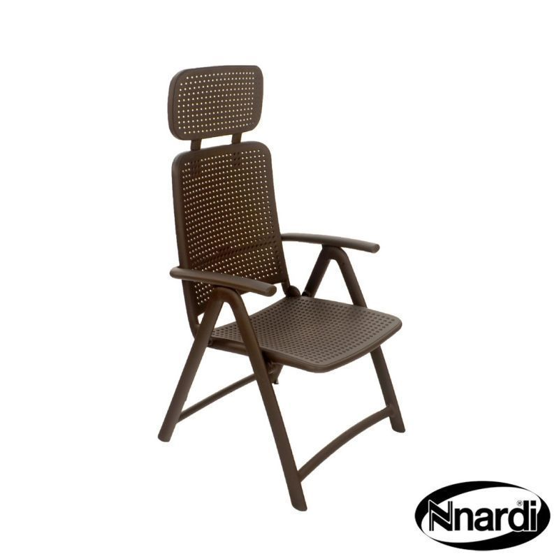 Nnardi Aqua Marina Outdoor Garden Chair Coffee
