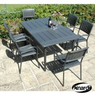 See more information about the Maestrale Outdoor Garden Furniture Set (supplied with 6 Anthracite col