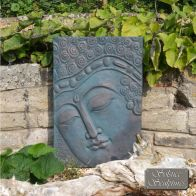 See more information about the Buddha Plaque Garden Ornament