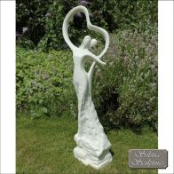 See more information about the First Dance Garden Ornament Statue (white)