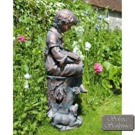 See more information about the Solstice Sculptures Arthur Garden Ornament Statue (89cm)