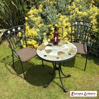 See more information about the Orba Garden Bistro Furniture Set (supplied with 2 Murcia Chairs)