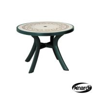 See more information about the Toscana 100 Outdoor Garden Table (Green with Ravenna style top)