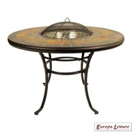 See more information about the Durango Outdoor Garden Fire Pit Patio Table