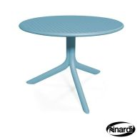 See more information about the Nnardi Step Outdoor Garden Bistro Table Blue