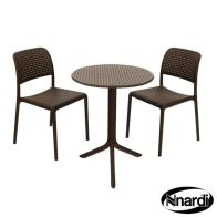 See more information about the Step Garden Bistro Set & 2 Coffee Bistro Chairs
