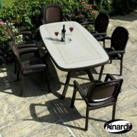 See more information about the Toscana 165 Garden Furniture Set (supplied with 6 Coffee Beta Chairs)