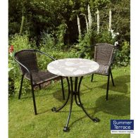 See more information about the Romano Bistro Garden Furniture Set & 2 San Remo Chairs