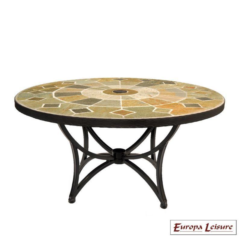 Garden Furniture Qd nnardi alicante outdoor garden table (coffee coloured) - buy