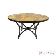 See more information about the Granada Outdoor Garden Table (Coffee coloured)