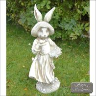 See more information about the Mrs Rabbit Garden Ornament Statue